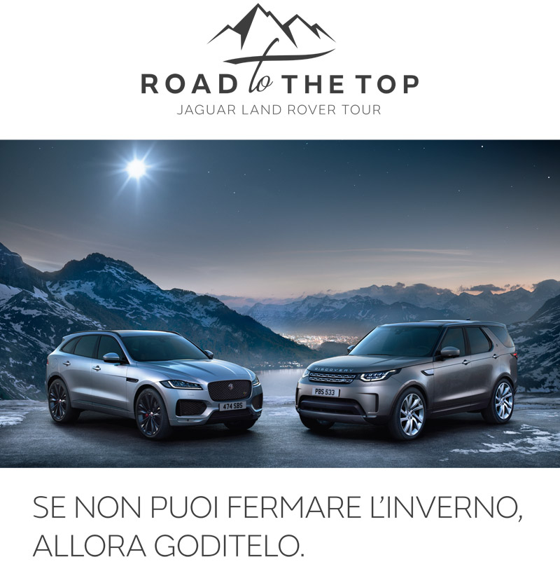 Road to the Top Land Rover Val di Zoldo Belluno