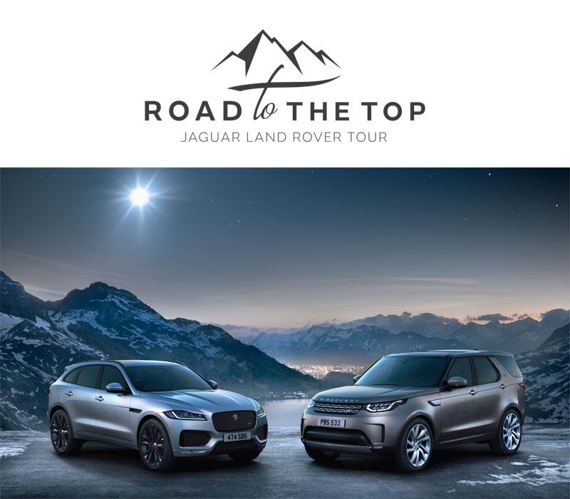 Prova la tua Land Rover tra le montagne più belle del mondo