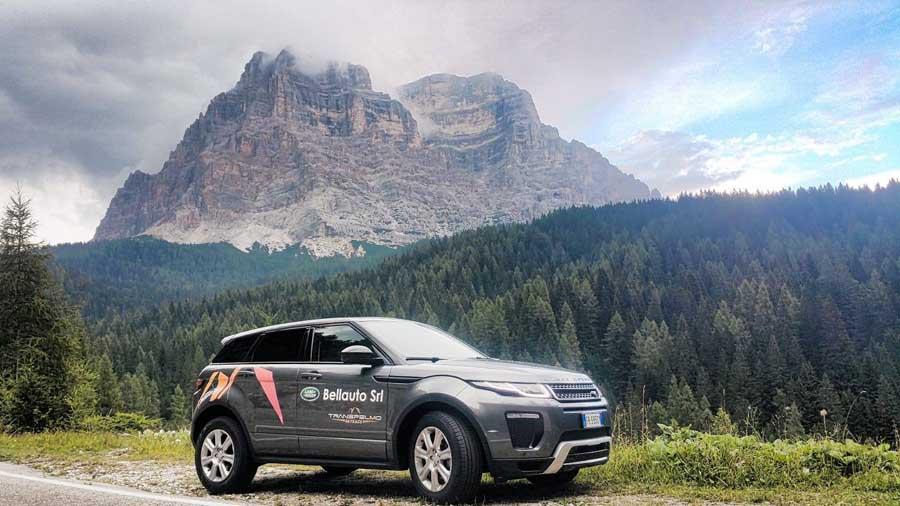 Bellauto Land Rover partner ufficiale Transpelmo 2018
