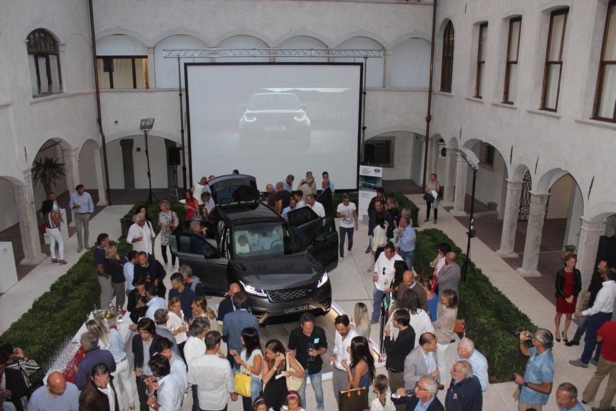 Presentazione nuova Range Rover Velar - Museo Palazzo Fulcis Belluno